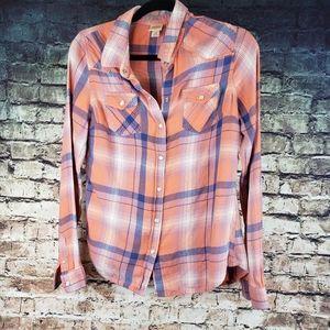 Mossimo Plaid Shirt